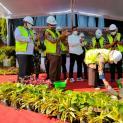 Peletakan Batu Pertama Refitalisasi Alun-Alun Jombang