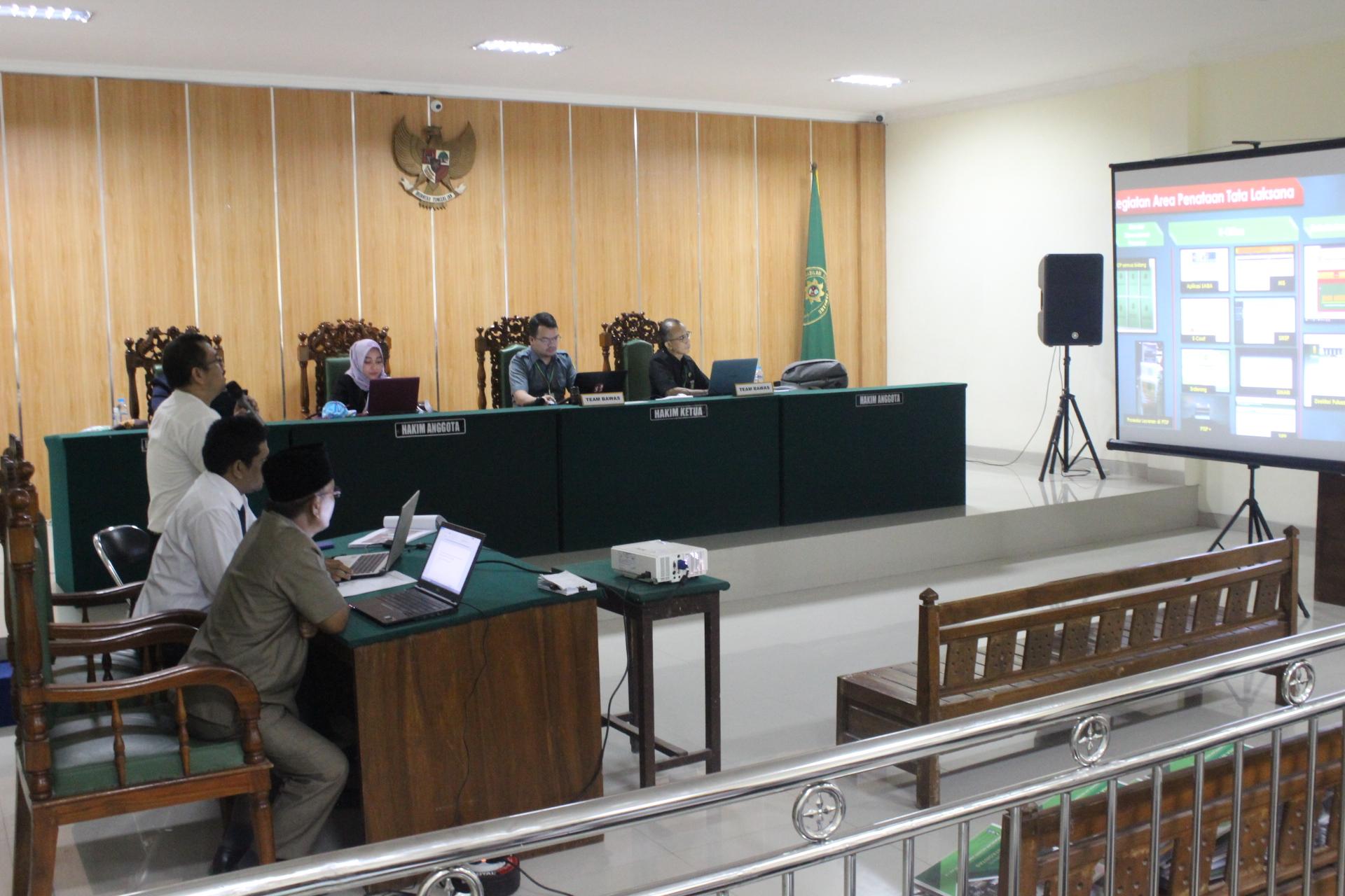 Evaluasi Penilaian Mandiri Pelaksanaan Pembangunan Zona Integritas Pmpzi Oleh Badan Pengawasan Mahkamah Agung Ri