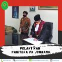 Pengambilan Sumpah Jabatan dan Pelantikan Panitera Pengadilan Negeri Jombang