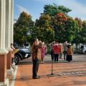 Kegiatan Apel Sore di Pengadilan Negeri Jombang